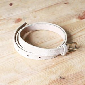 American Apparel skinny leather belt!